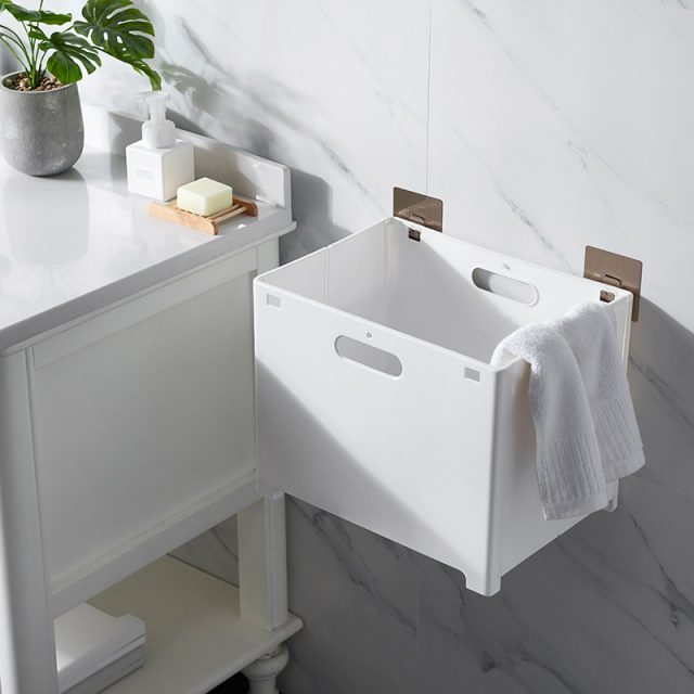 Wall Mounted Foldable Dirty Clothes Basket